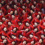 北朝鮮の美女応援軍団とは?選出基準や韓国での役割は?整形も!?画像や動画あり
