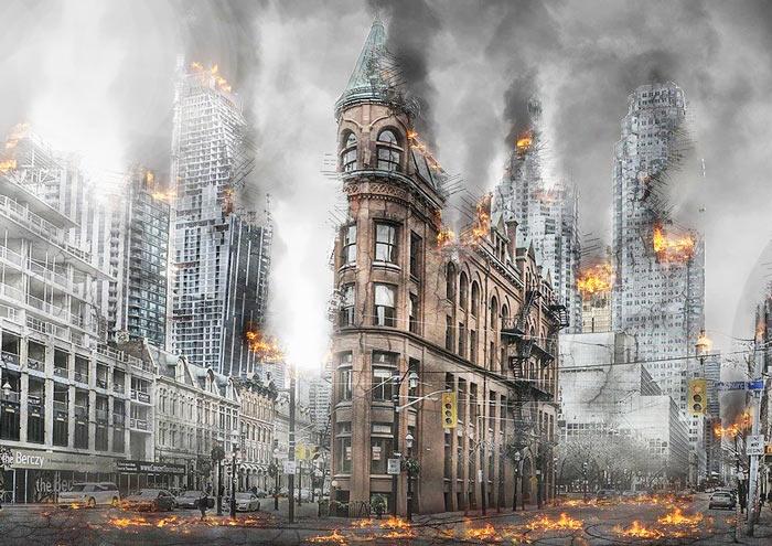 火事の夢の一般的な意味・古いものの破壊と新たな再生